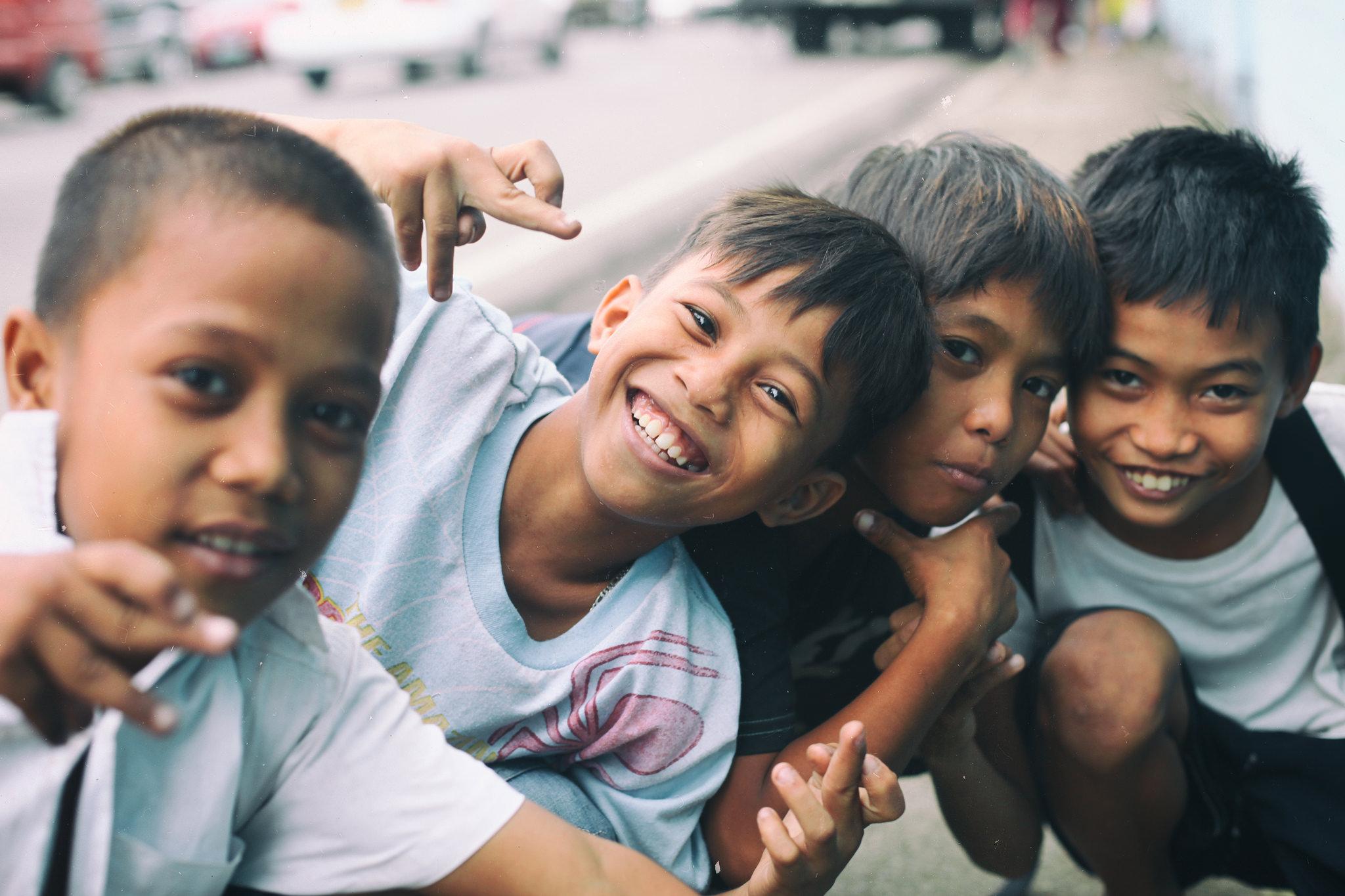 Cebu city kids.