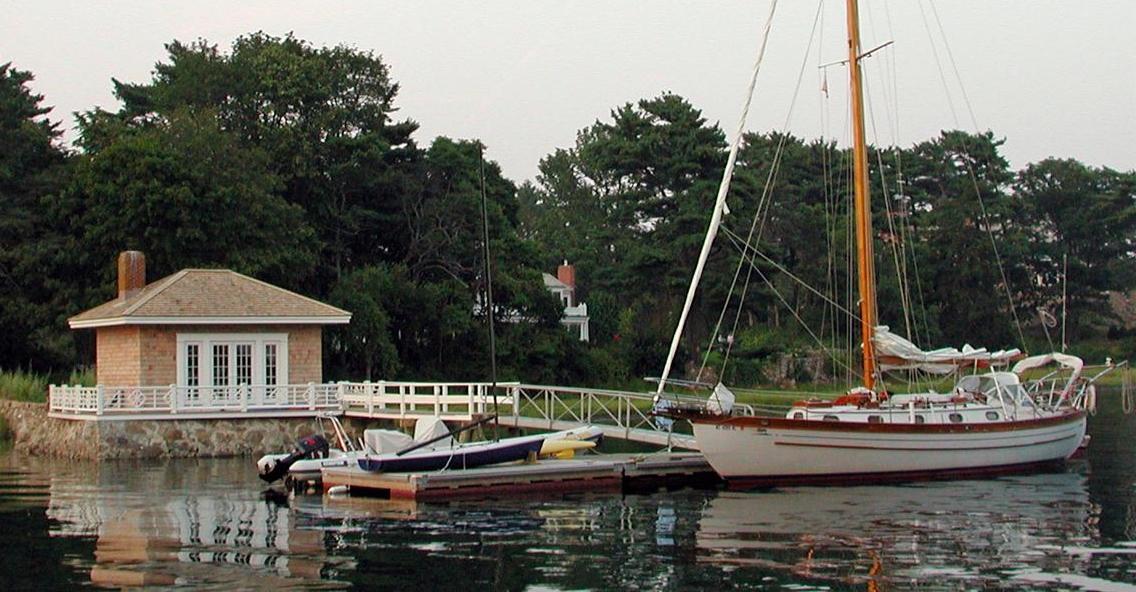 The Moorings boathouse