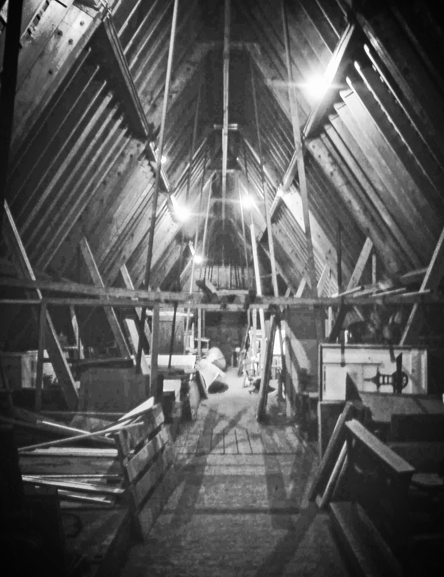 Interior of the Car Barn