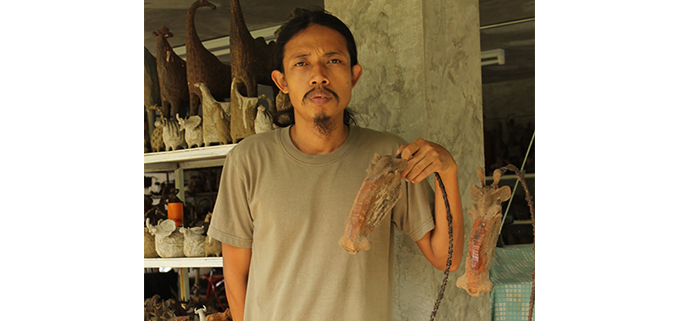 ChinClay Animal Sculptures are the work of Chin, a celebrated ceramicist and sculptor with Bachelor's degree in Fine Arts.