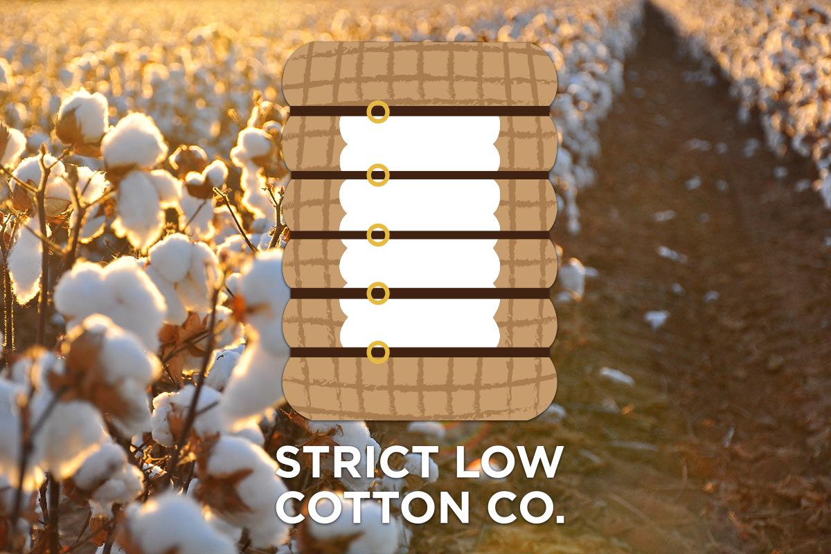 Strict Low Cotton Co. Logo