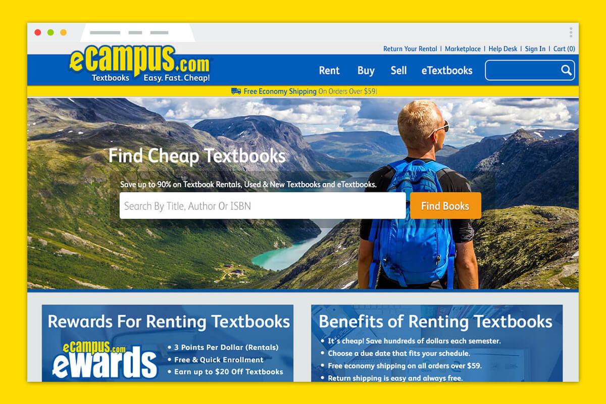 eCampus.com Responsive Redesign