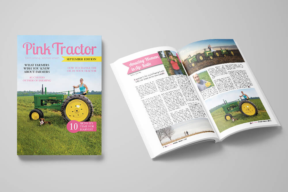 Pink Tractor Magazine