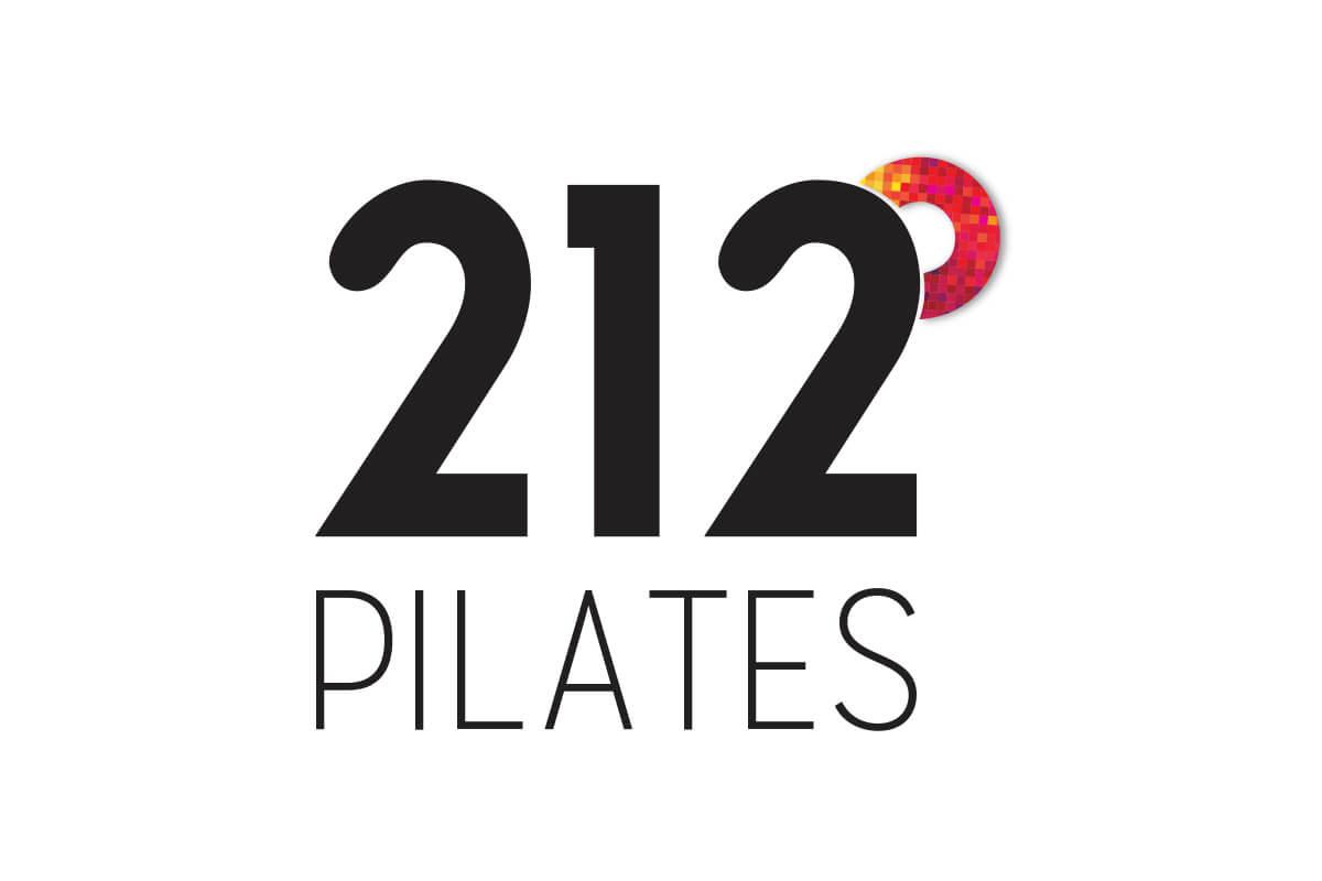Pilates 212 Degrees Logo