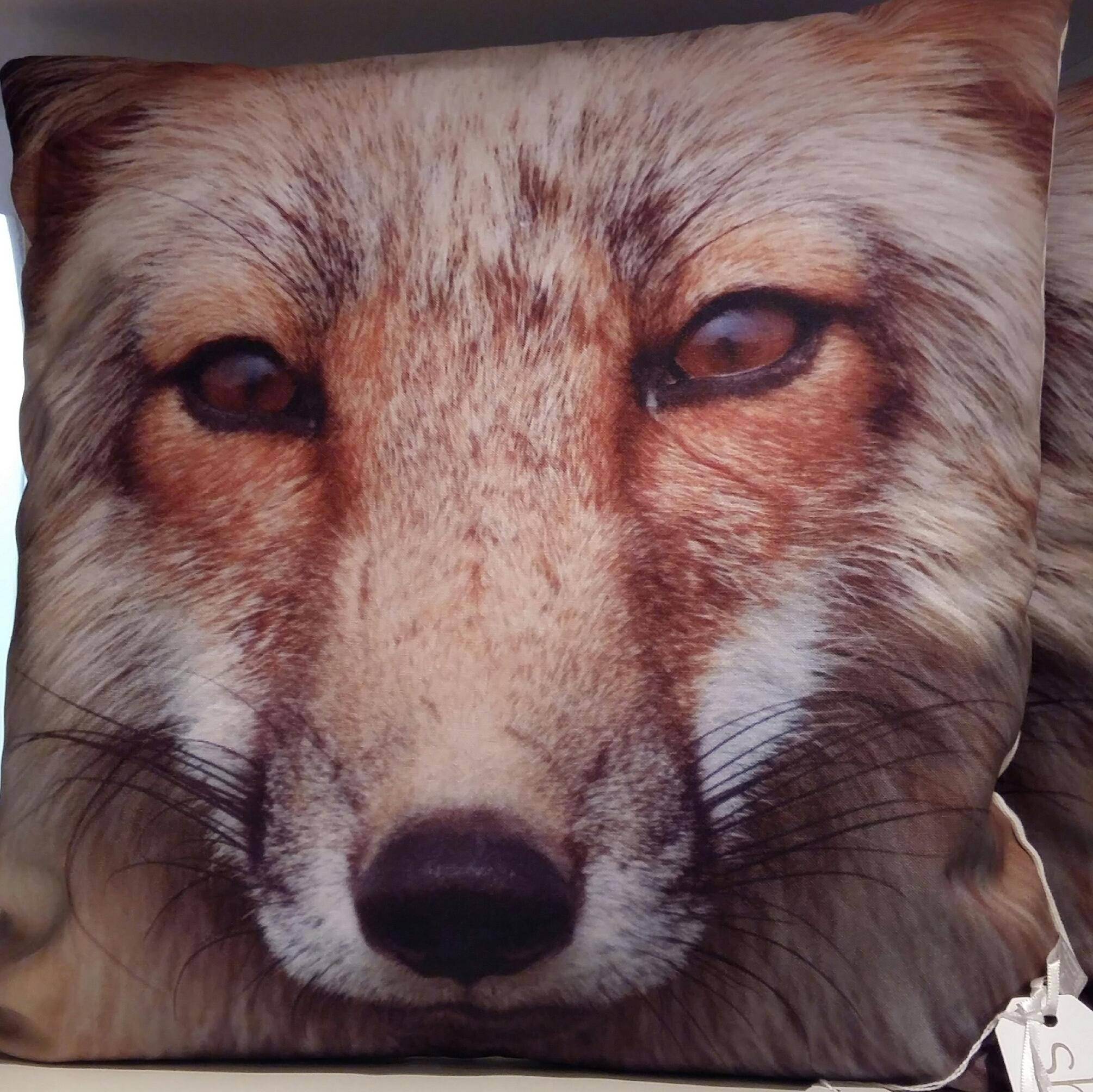 Mr Fox cushions