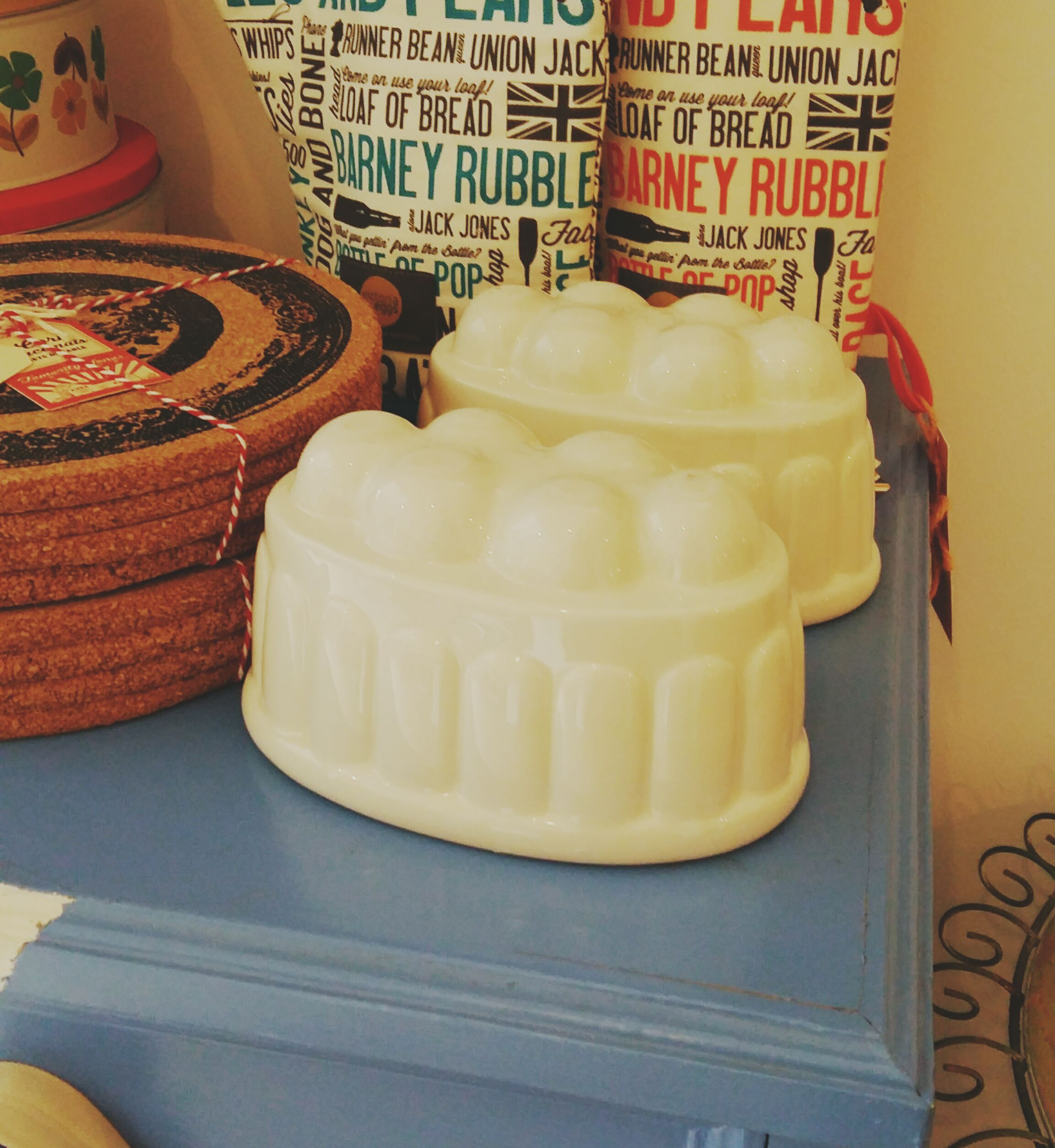 Ceramic jelly moulds