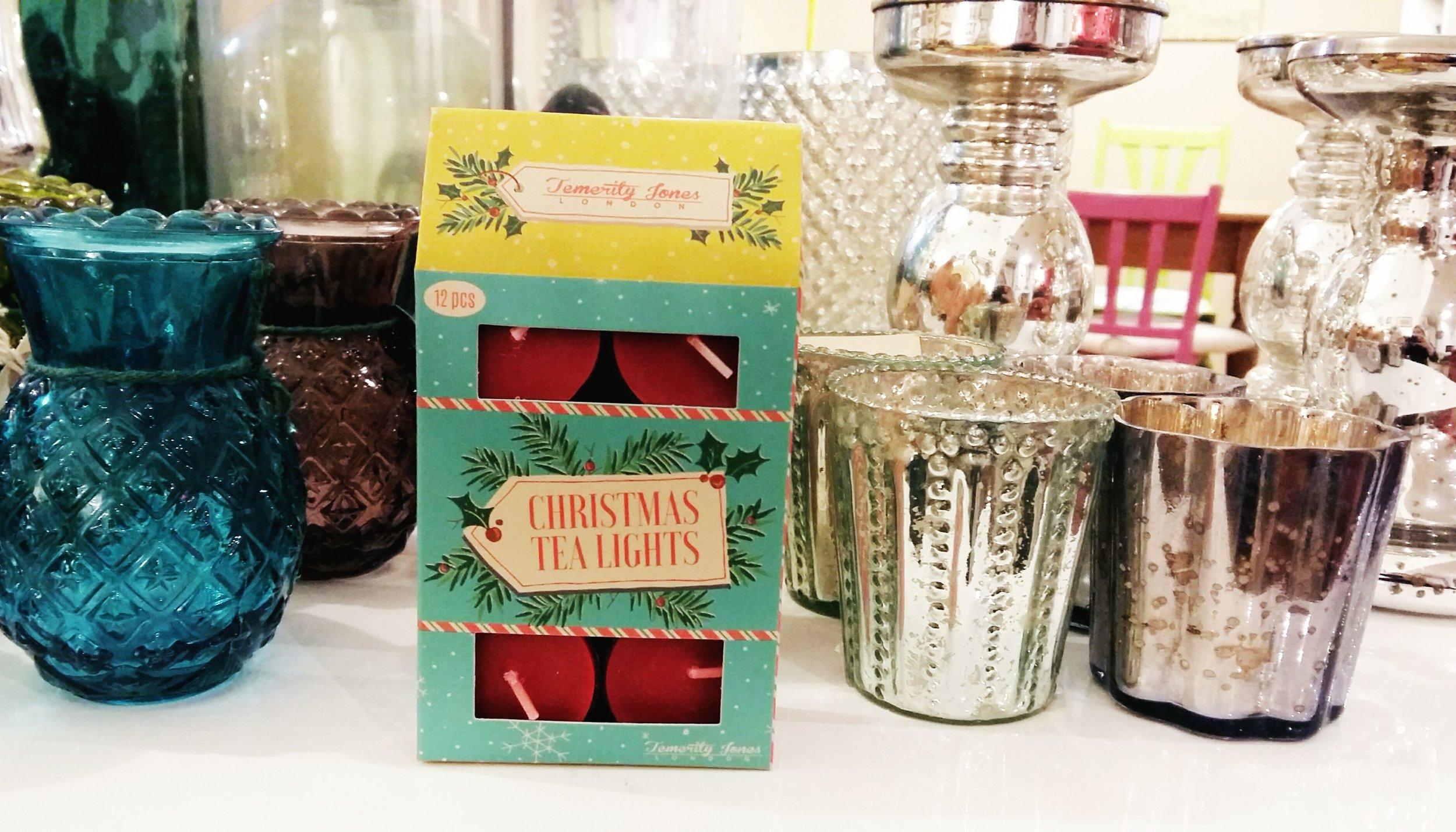 Christmas scented nightlights