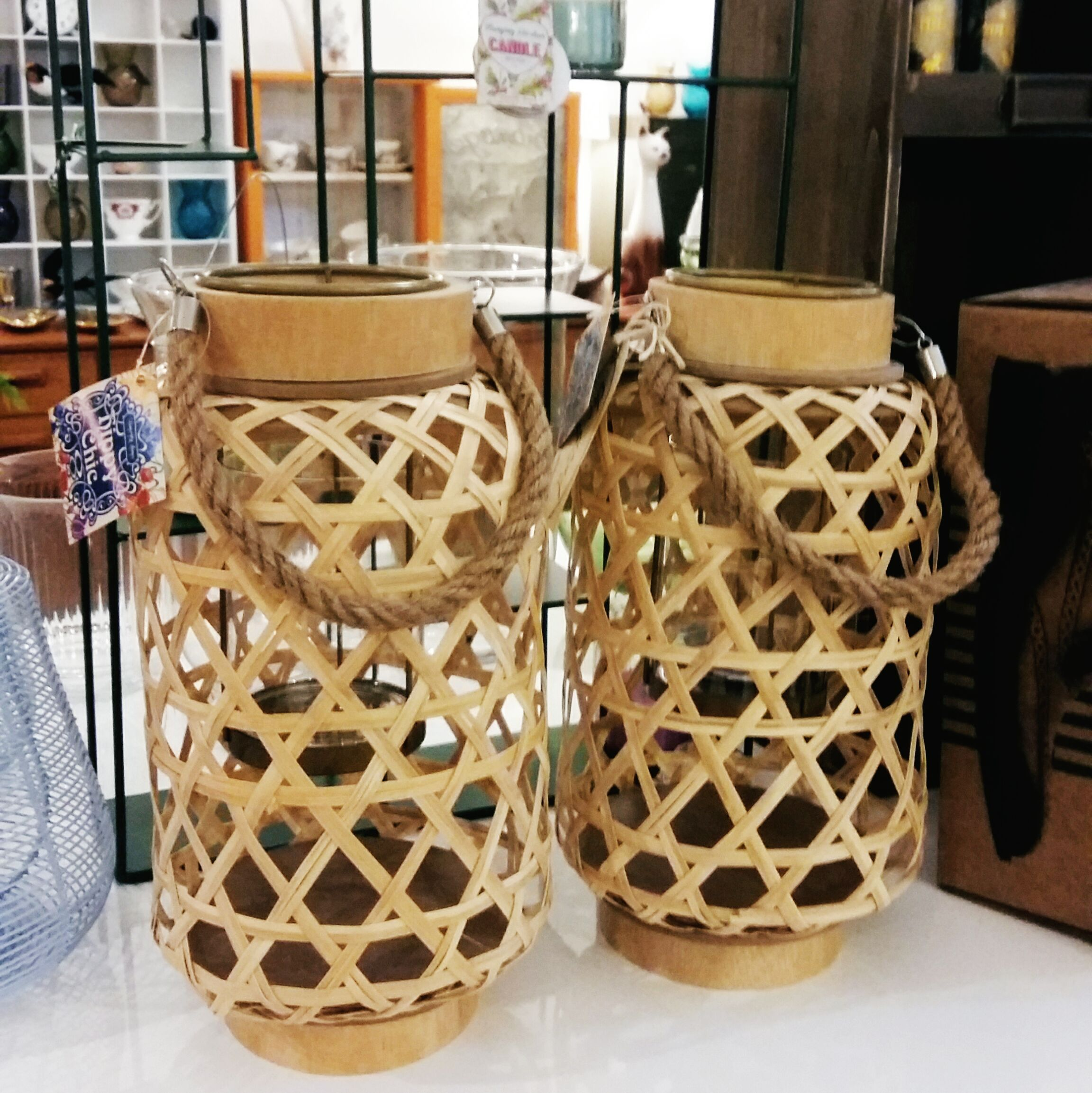 Bamboo large lanterns