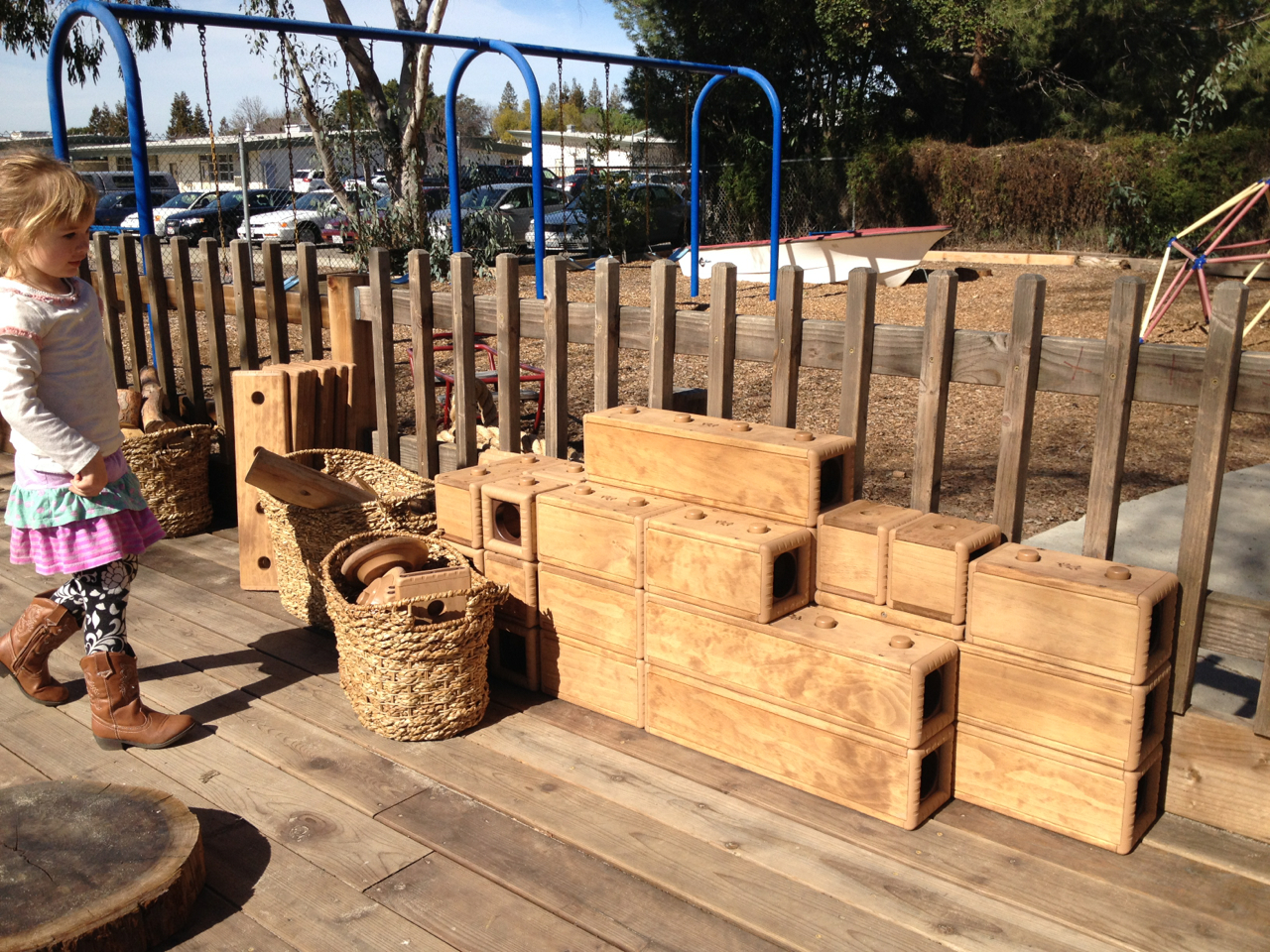Past auction events let us buy these awesome outdoor blocks
