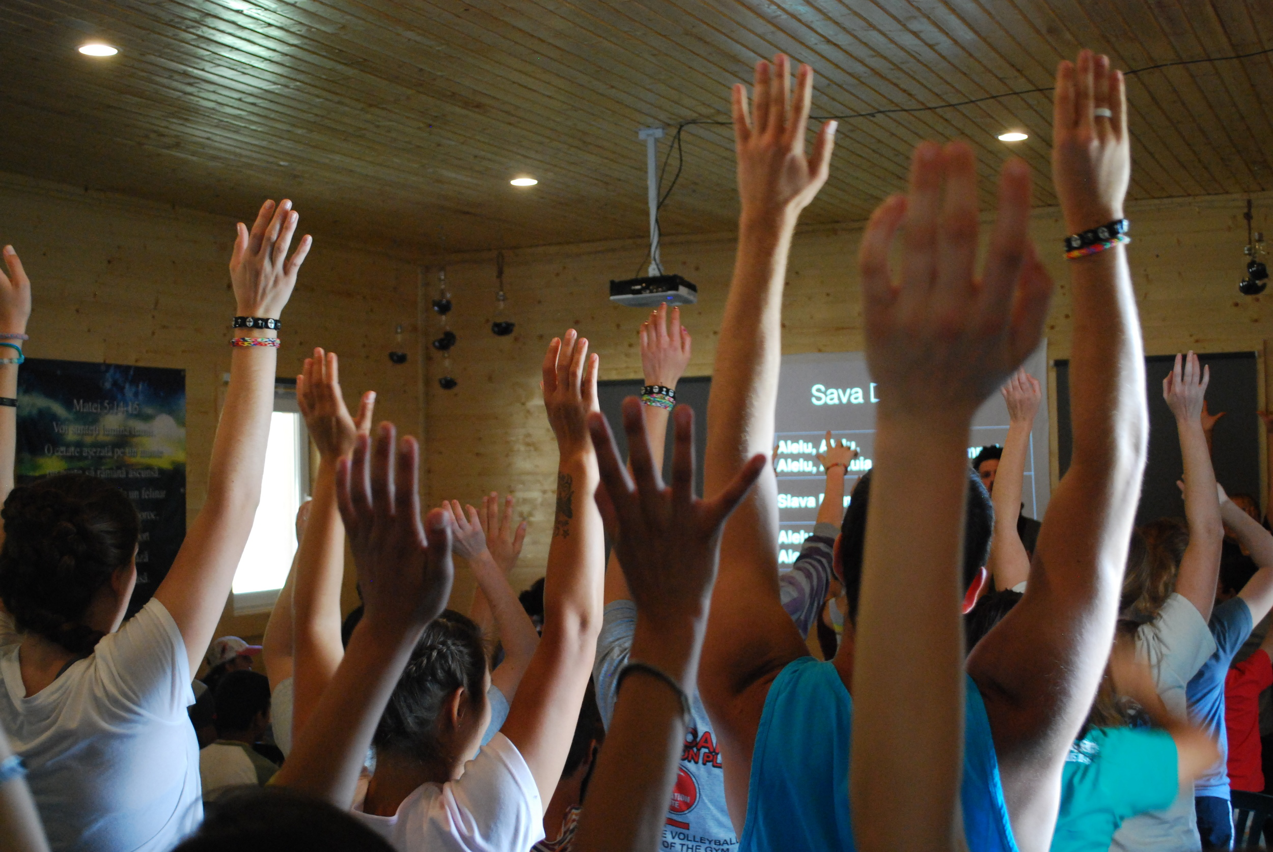 Our morning and evening worship times were spectacular!