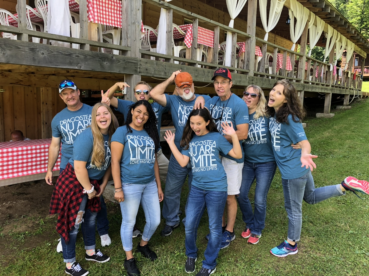 Our crazy FBC Rockport Team at Camp Living Waters, July 2018!