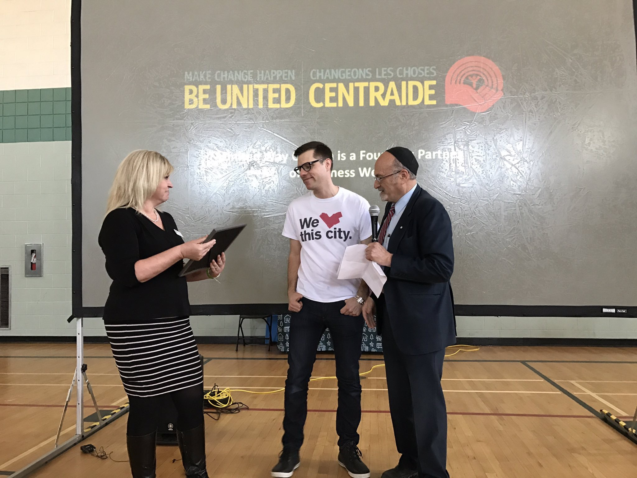 Peter Joynt Receives Kindness Award
