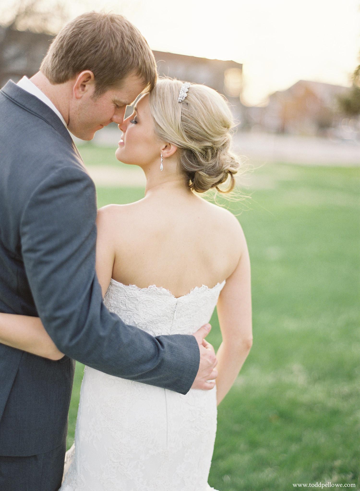 Ashley and Brian Brohm wedding