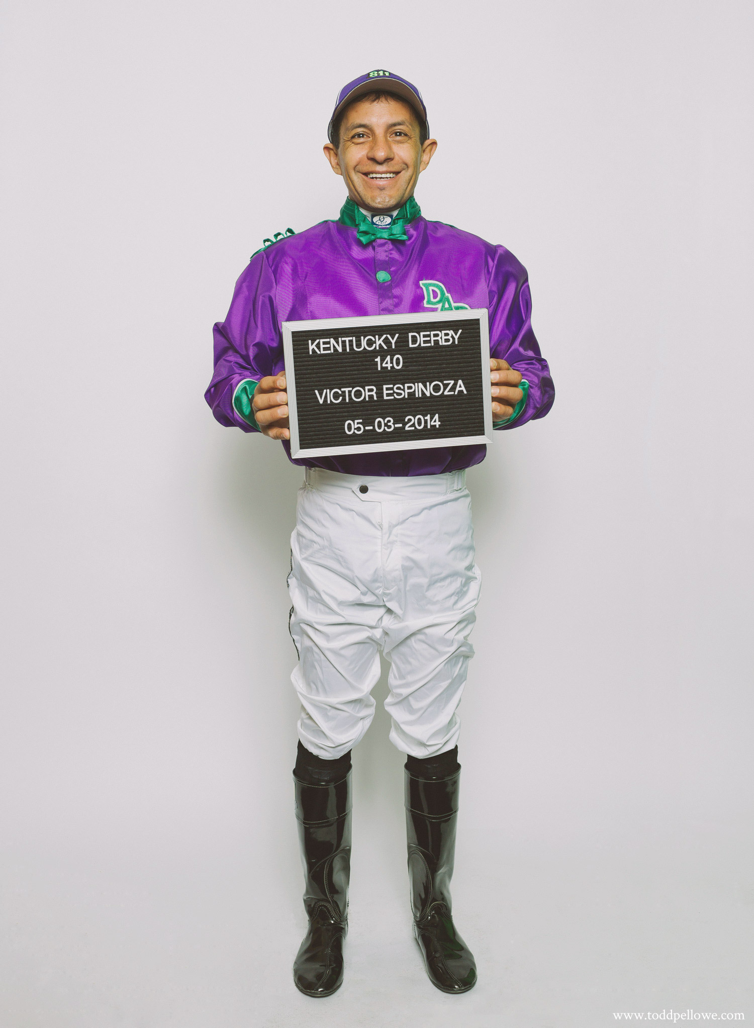 Victor Espinoza, Kentucky Derby 140 Winner