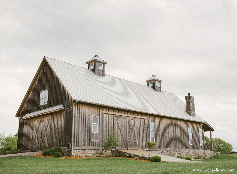 Long Ridge Farm main barn