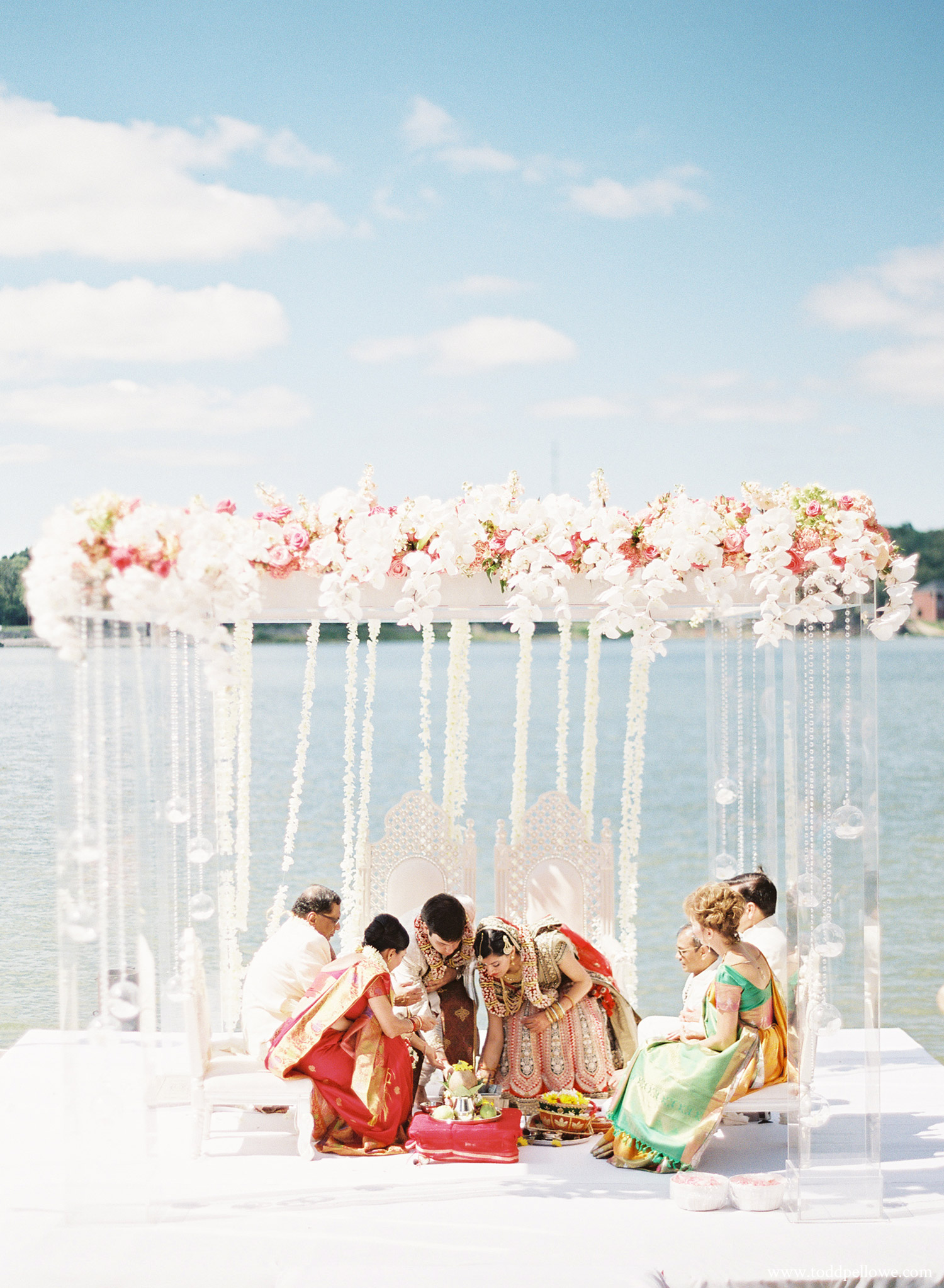 outdoor indian wedding in louisville