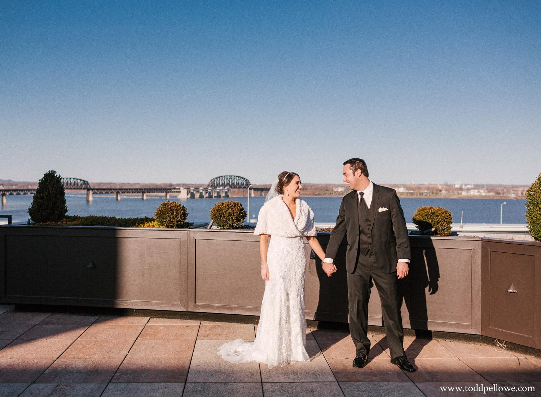 Louisville waterfront wedding