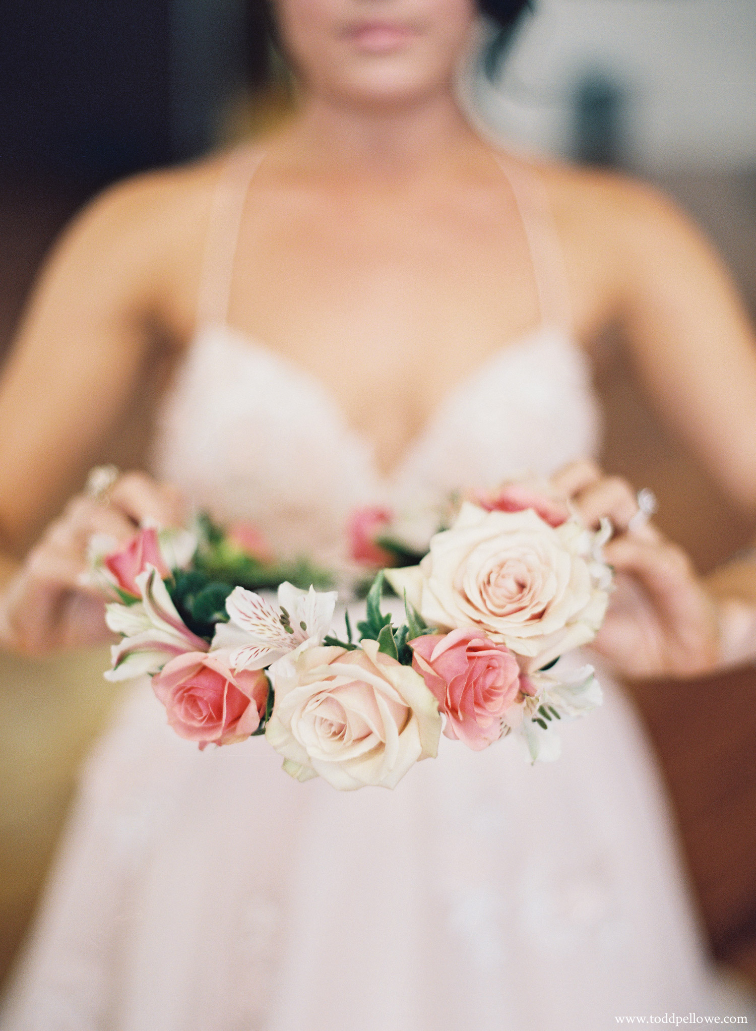 Louisville wedding flower crown
