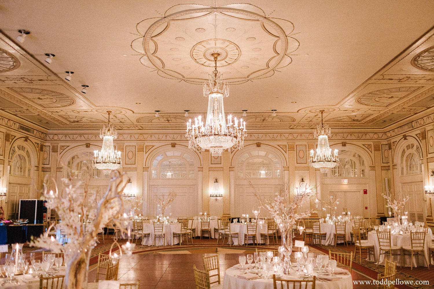 Crystal Ballroom at the Brown Hotel