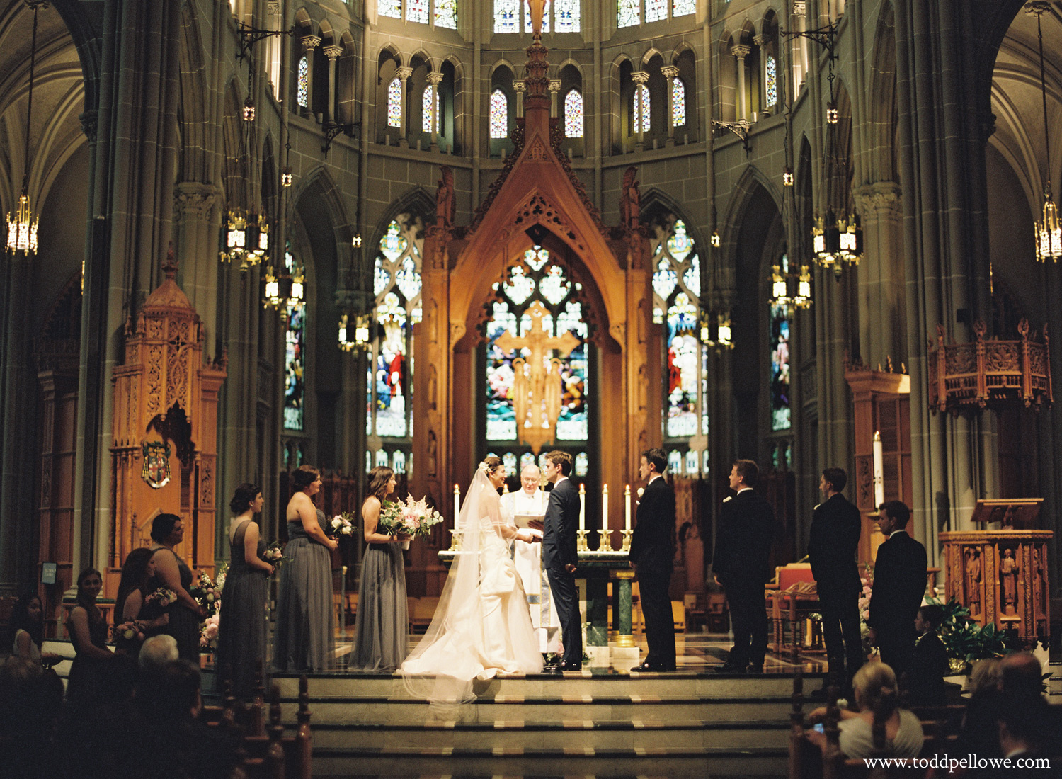 Cathedral Basilica of the Assumption Wedding Ceremony