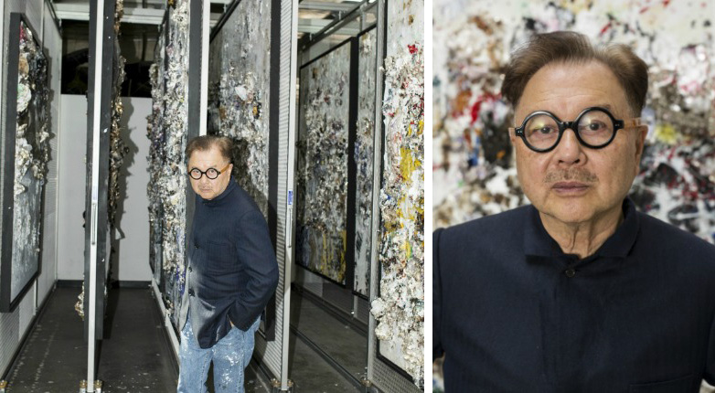 Michael Chow in his West Los Angeles studio.