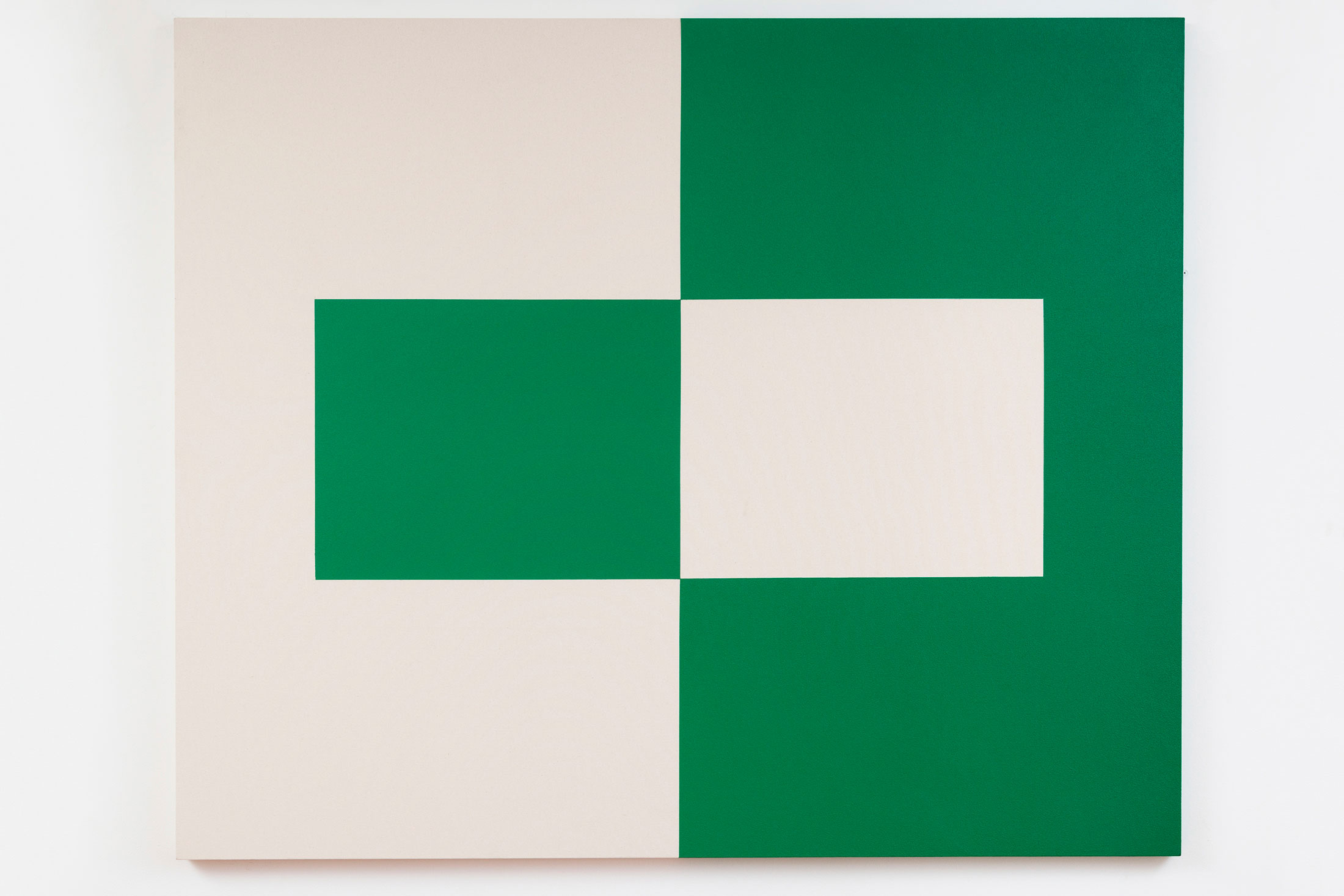 "Carmen Herrera's ""Alba"" (2014). (Photo: Courtesy Lisson Gallery)"