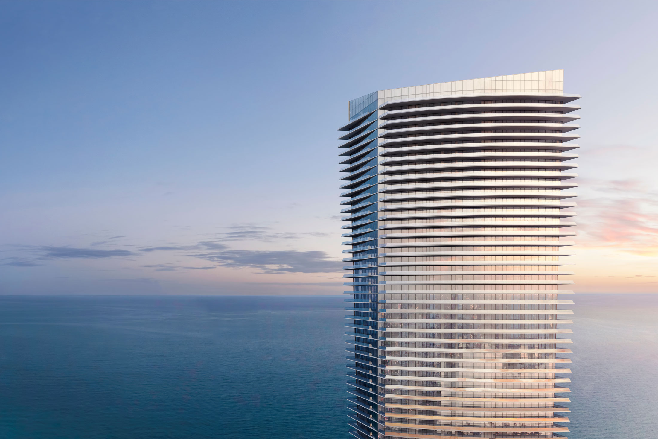 A rendering of Pelli's upcoming 60-story Residences by Armani/Casa building in Miami. (Photo: Courtesy The Related Group and Dezer Development)