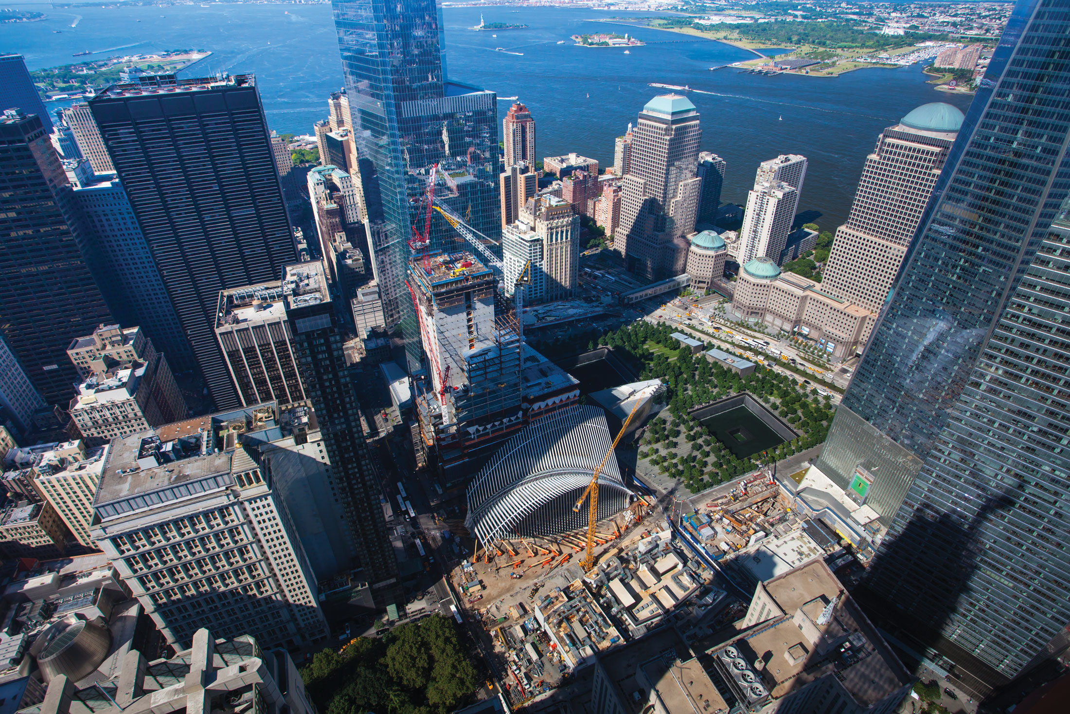 A view of the World Trade Center site. (Photo: Courtesy Silverstein Properties)