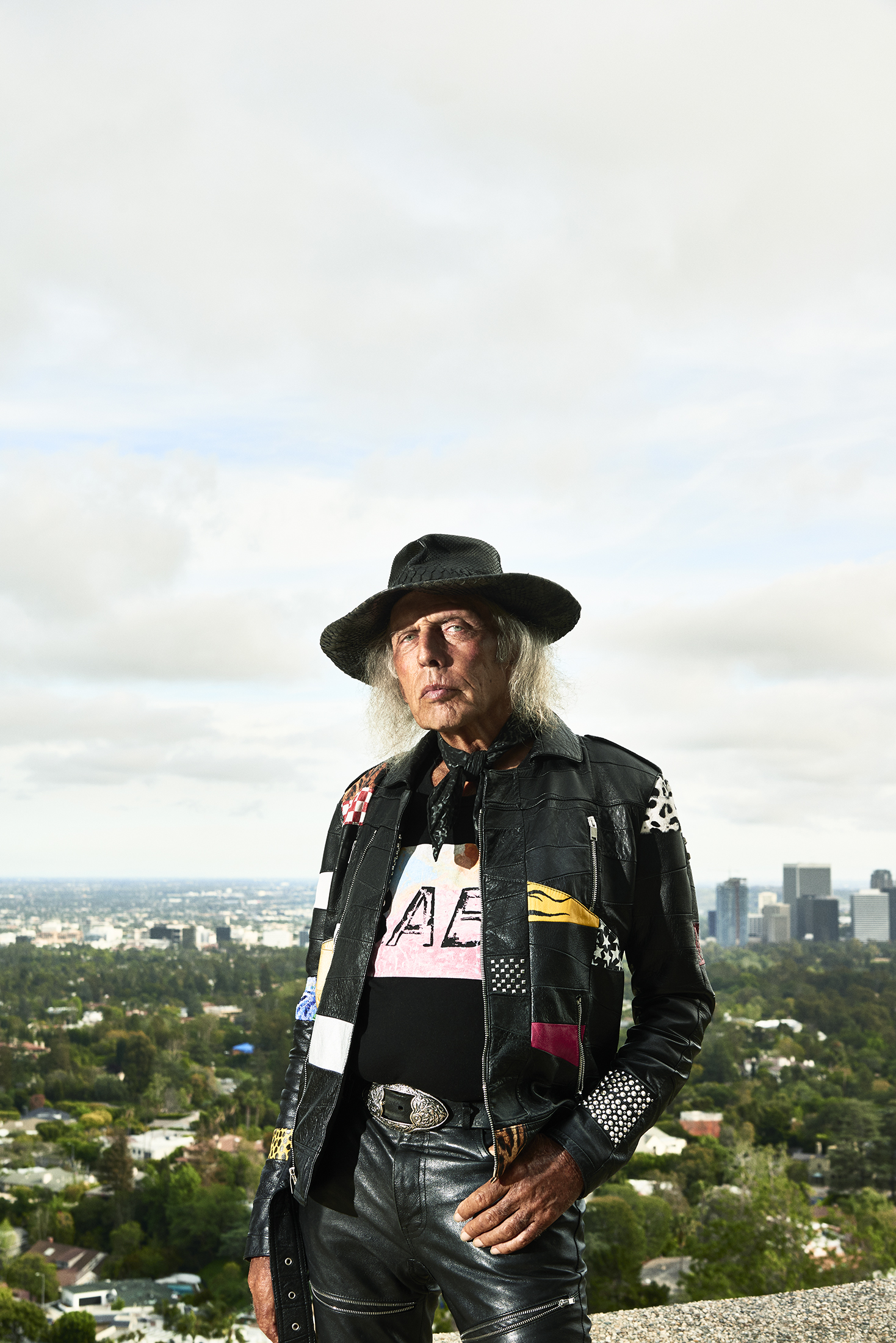 James Goldstein at the Sheats-Goldstein residence in Los Angeles. (Photo: Spencer Lowell/Surface)