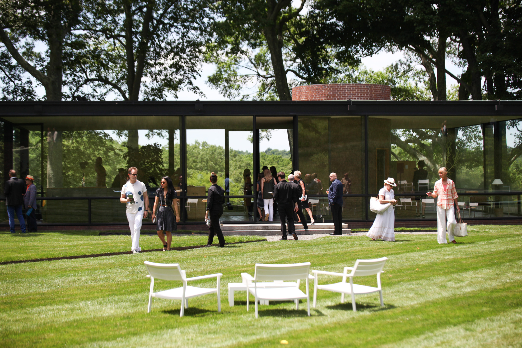 The Glass House Summer Party (Photo: David Heald)