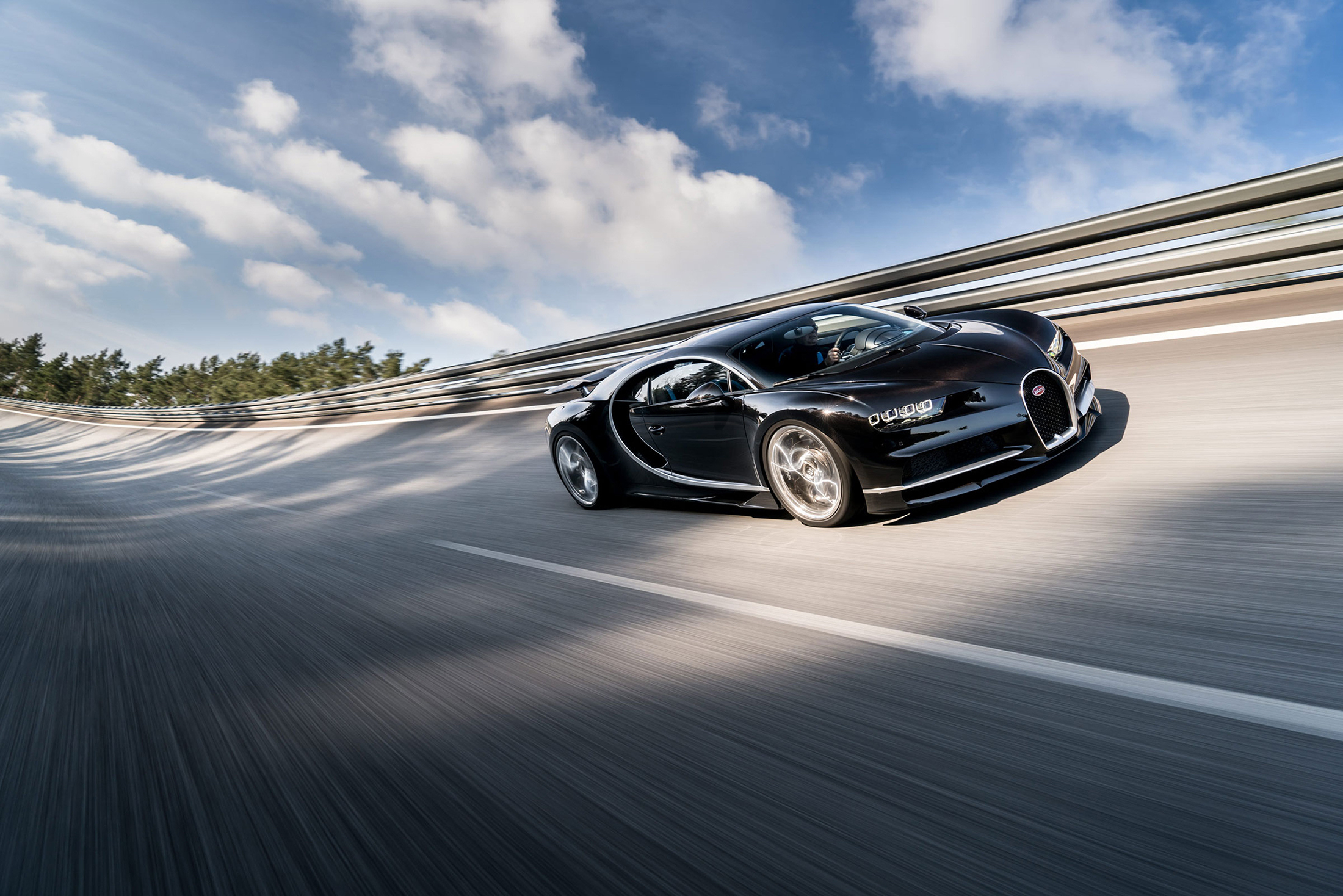The new Bugatti Chiron. (Photo: Courtesy Bugatti)