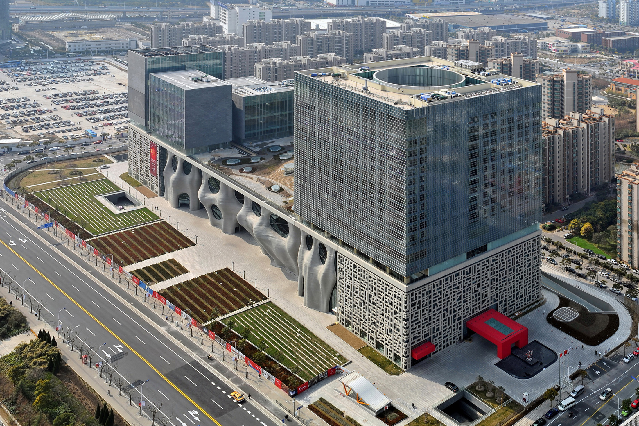 The Shanghai Himalayas Art Museum, one of the hubs for the Shanghai Project.(Photo: Courtesy Shanghai Project)
