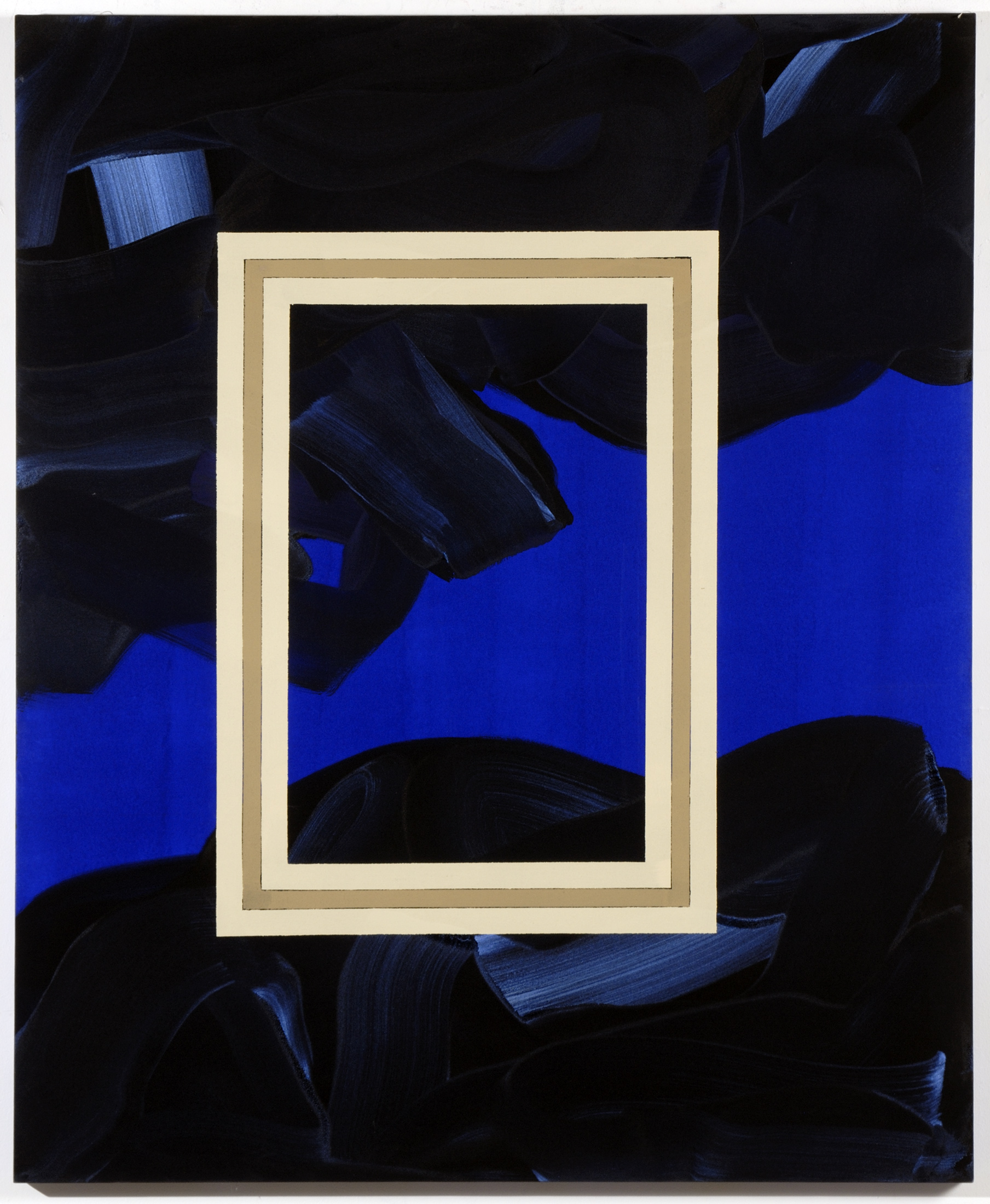 """Ed Moses's """"Budulox""""(2006) will be on view in """"Painting After Postmodernism.""""(Photo: Courtesy Robert Polo Gallery)"""