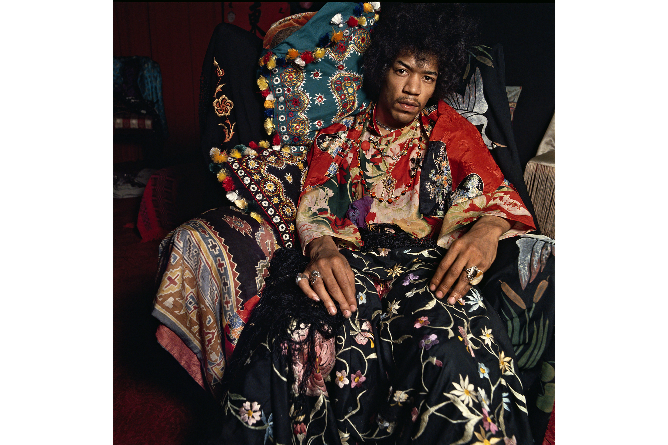 Jimi Hendrix for the  Sunday Times  magazine in August 1967.