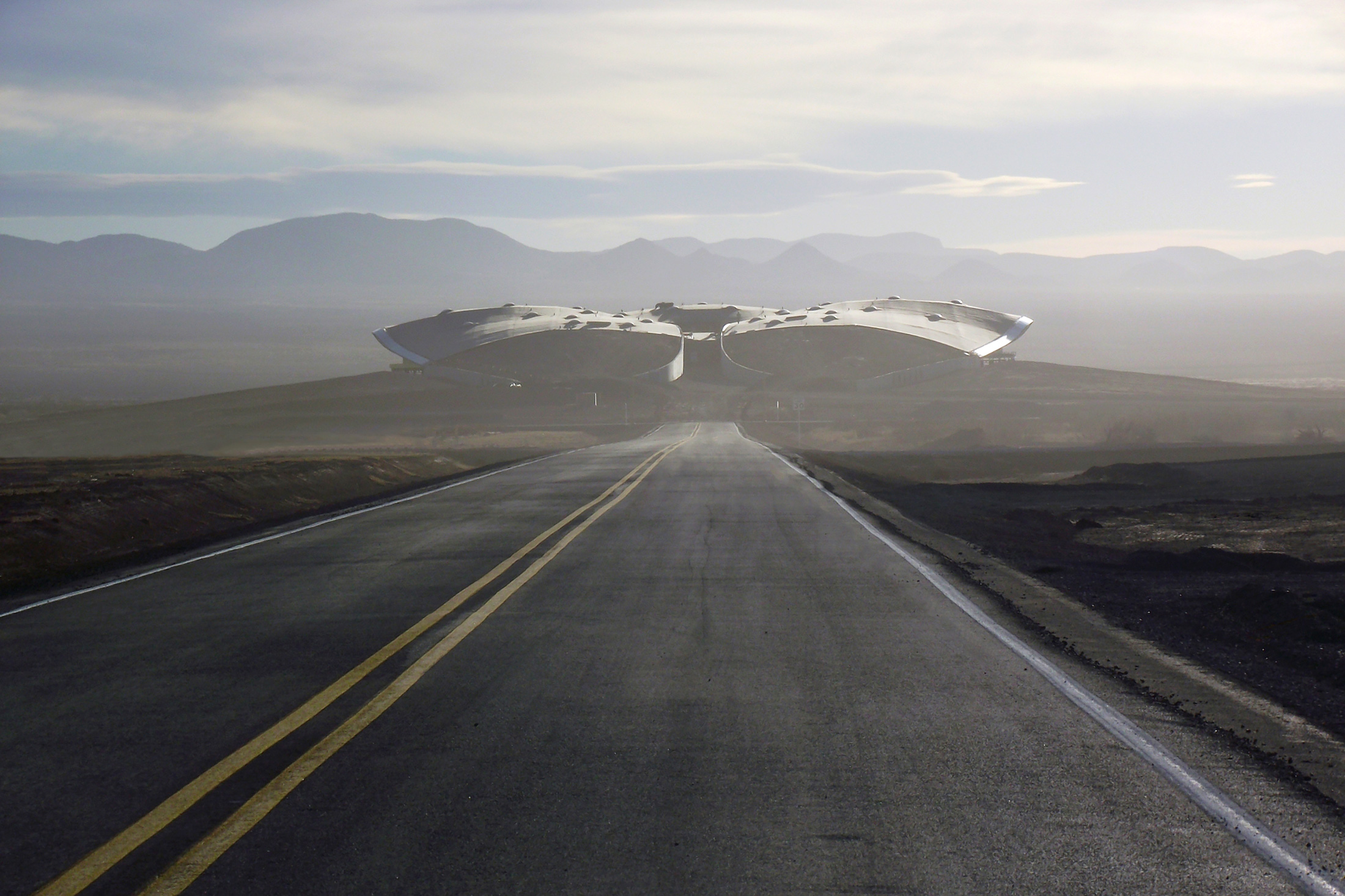 SpacePort America (Photo: Courtesy Virgin Galactic)