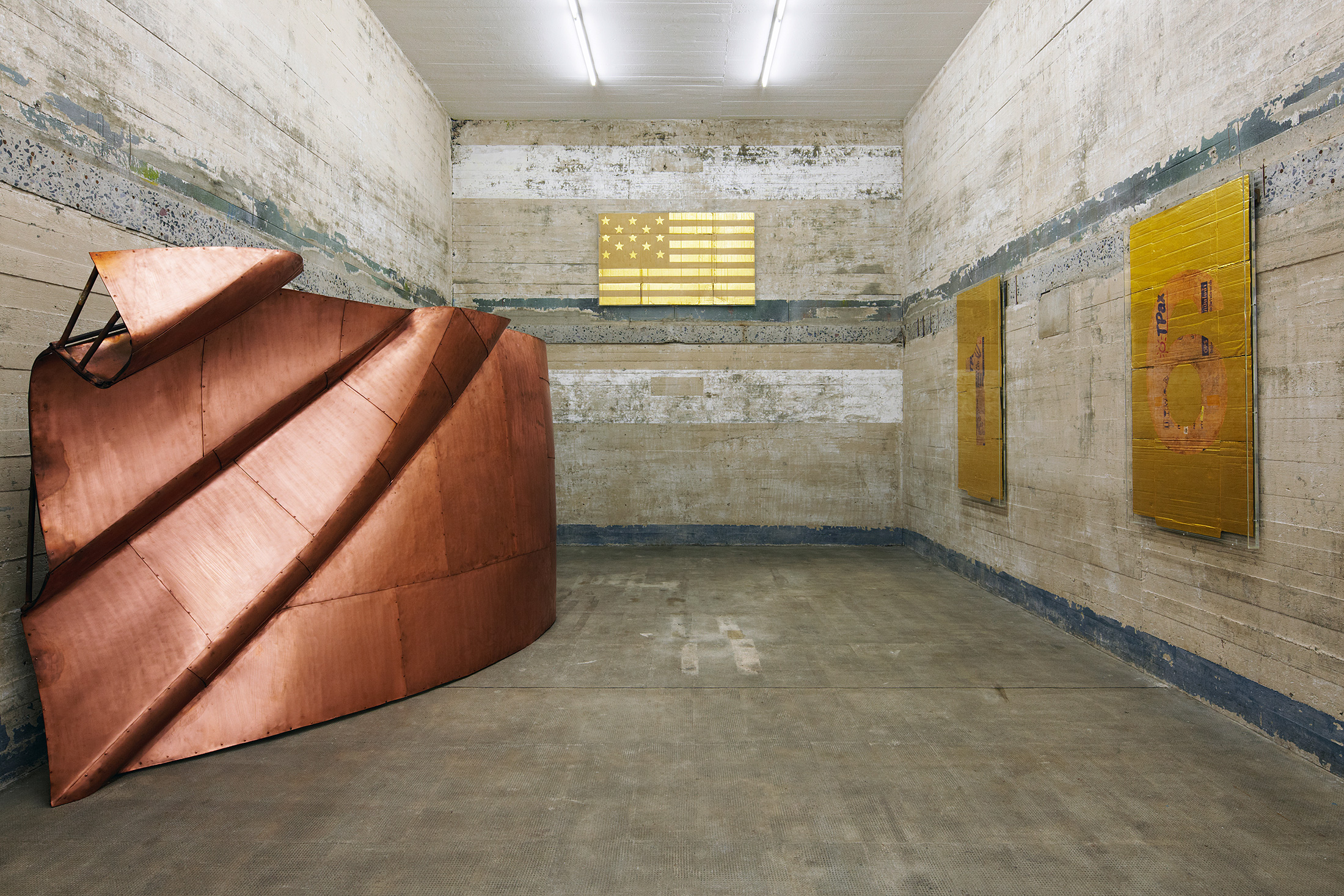 A piece by artist Danh Vo on display at the Boros Collection. (Photo: Courtesy Boros Collection)