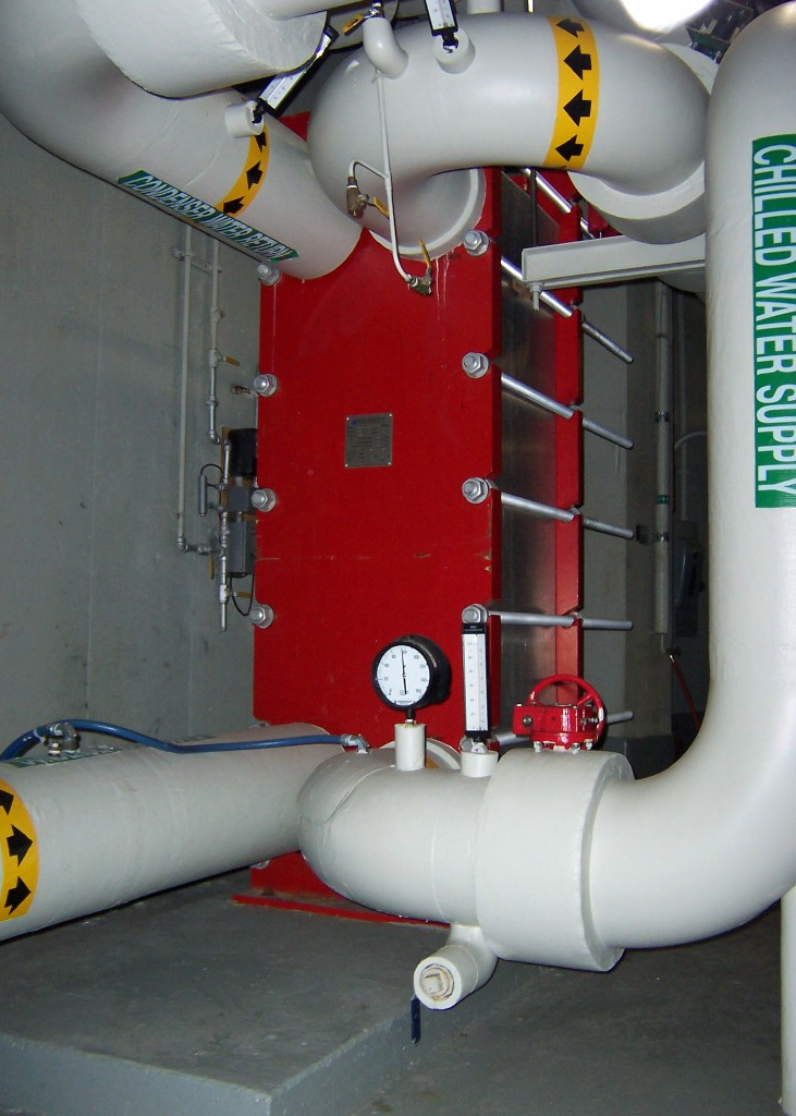 """Chiller By-Pass  Port Size: 8"""" Heat Transfer Area: 4,000 sq ft"""