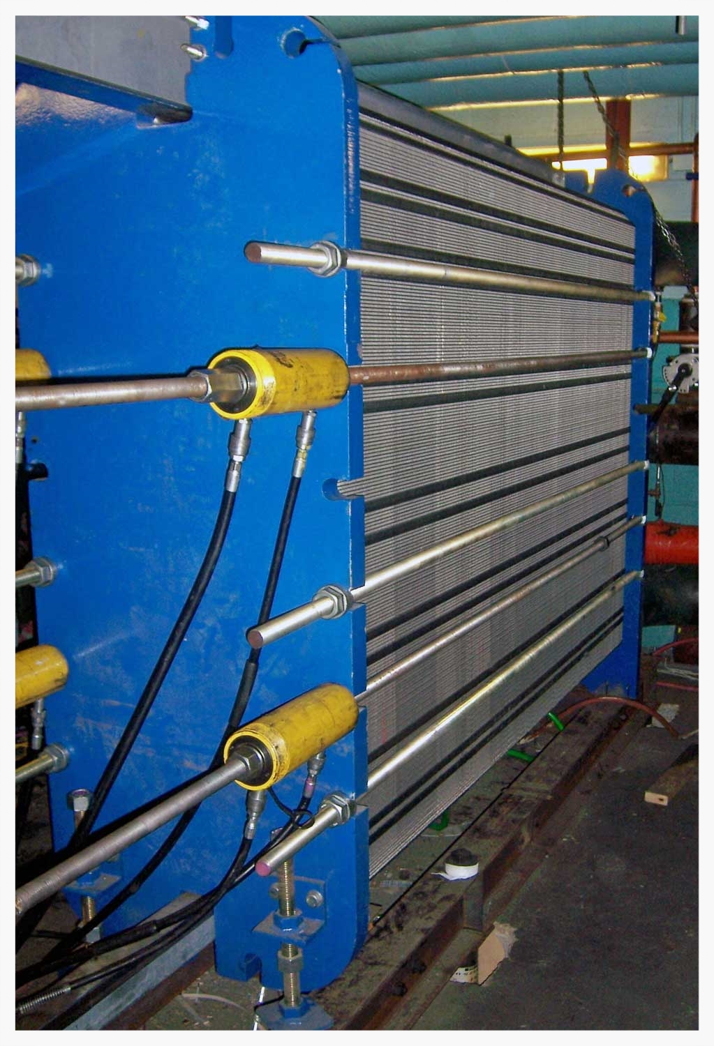 Free Cooling Plate Heat Exchanger