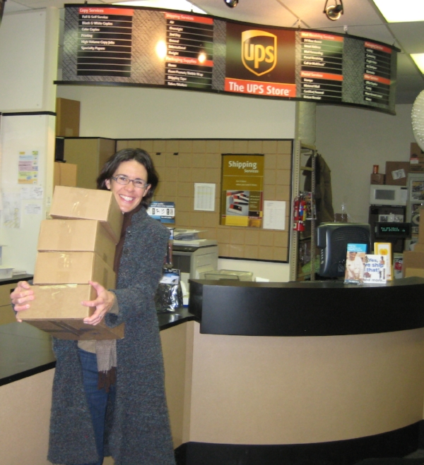 November 2011 - Shipping out the very first orders!
