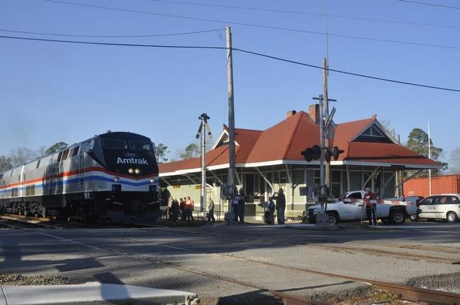 Milton Amtrak station