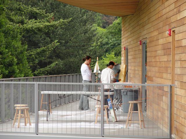 Studio shots: Boyden Studio, Sitka Center for Art & Ecology.