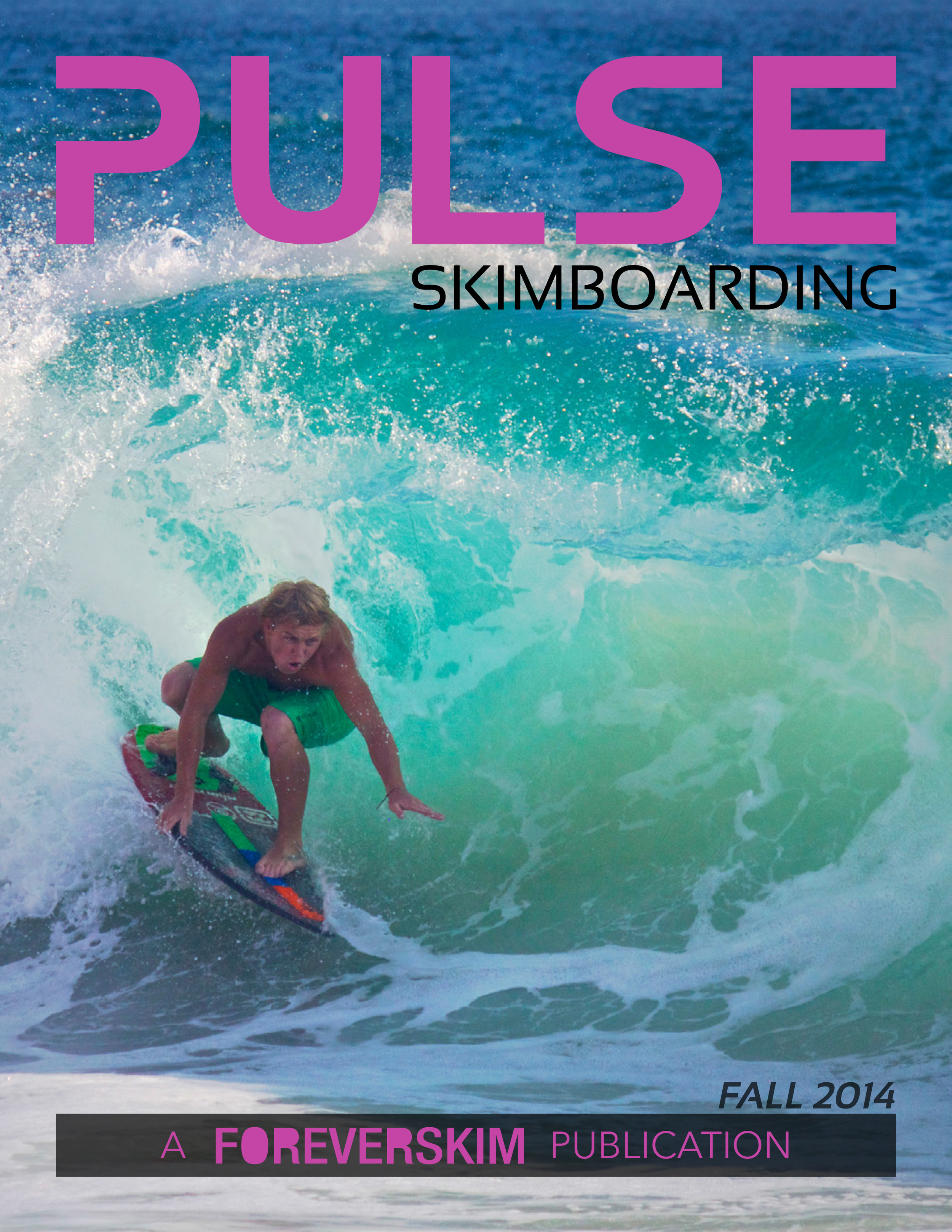 Pulse Skimboarding Magazine Issue Fall 2014