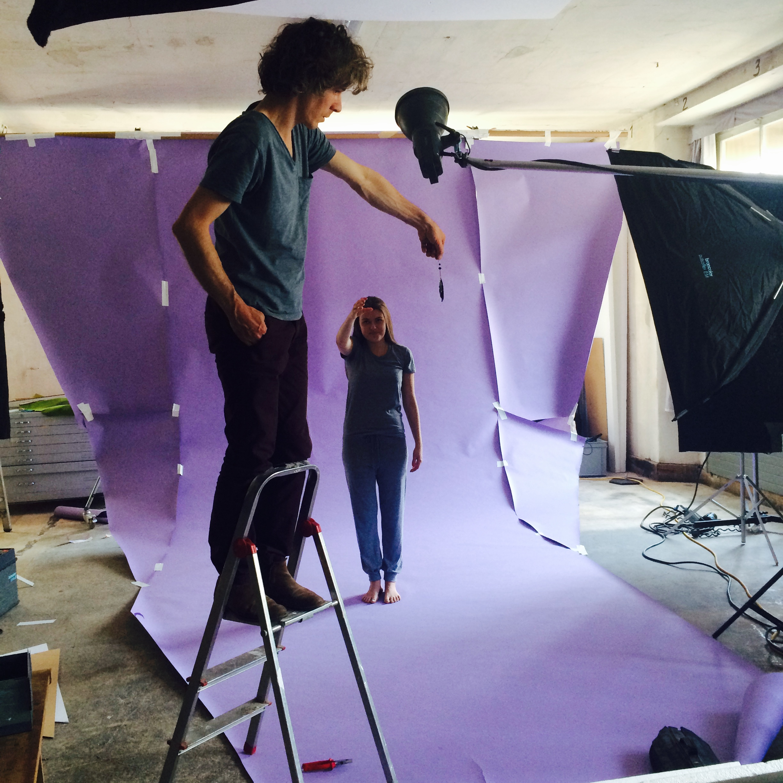 Photoshooting with Cortis & Sonderegger
