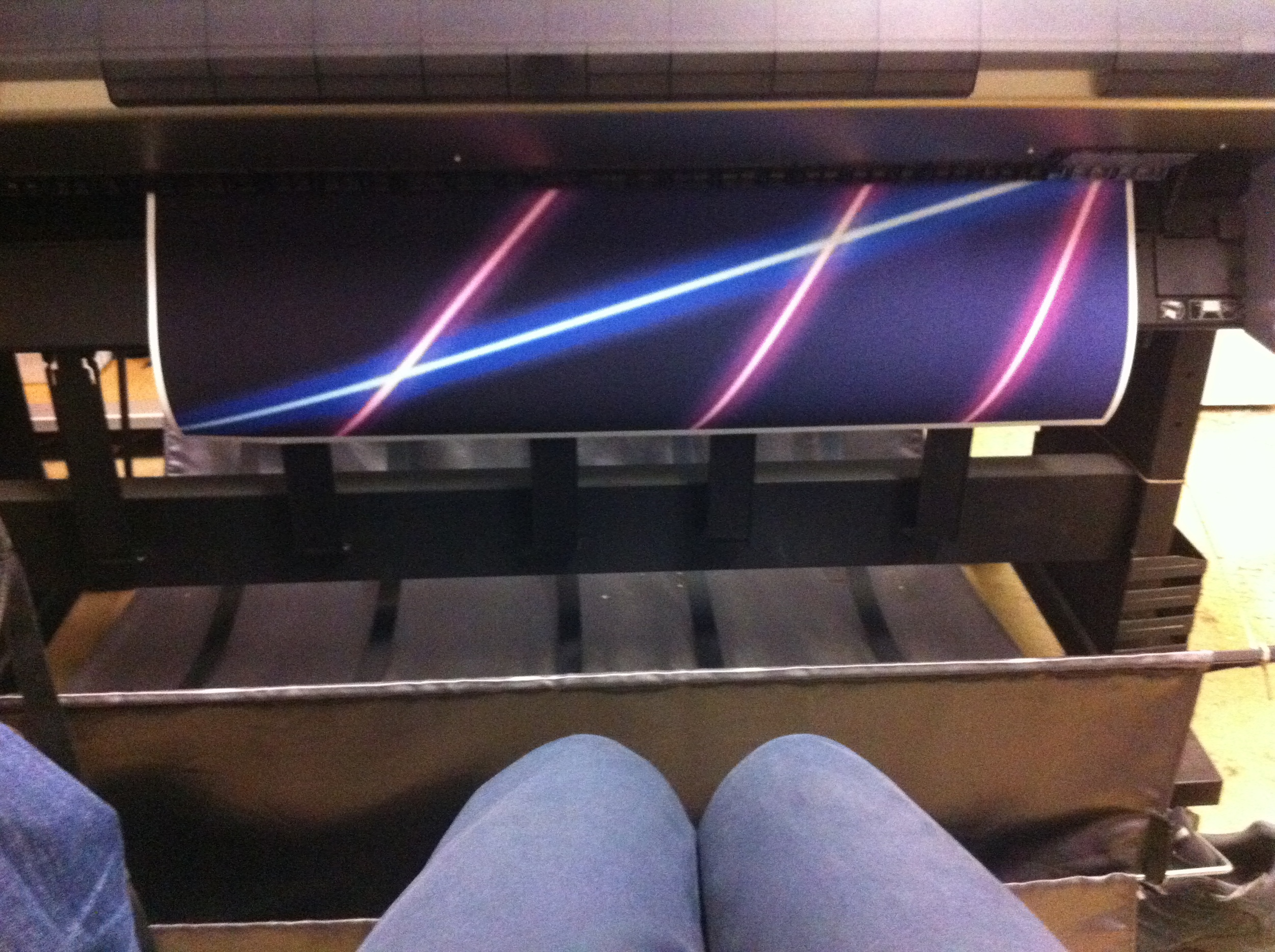 Laser on inkjet