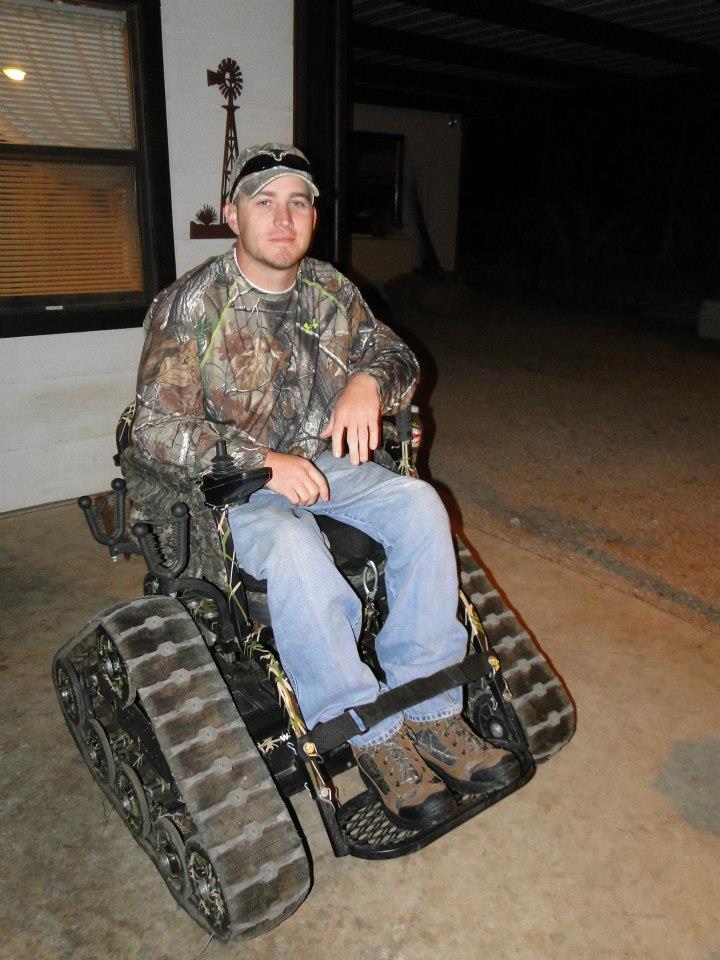 no limits track chair hunting.jpg