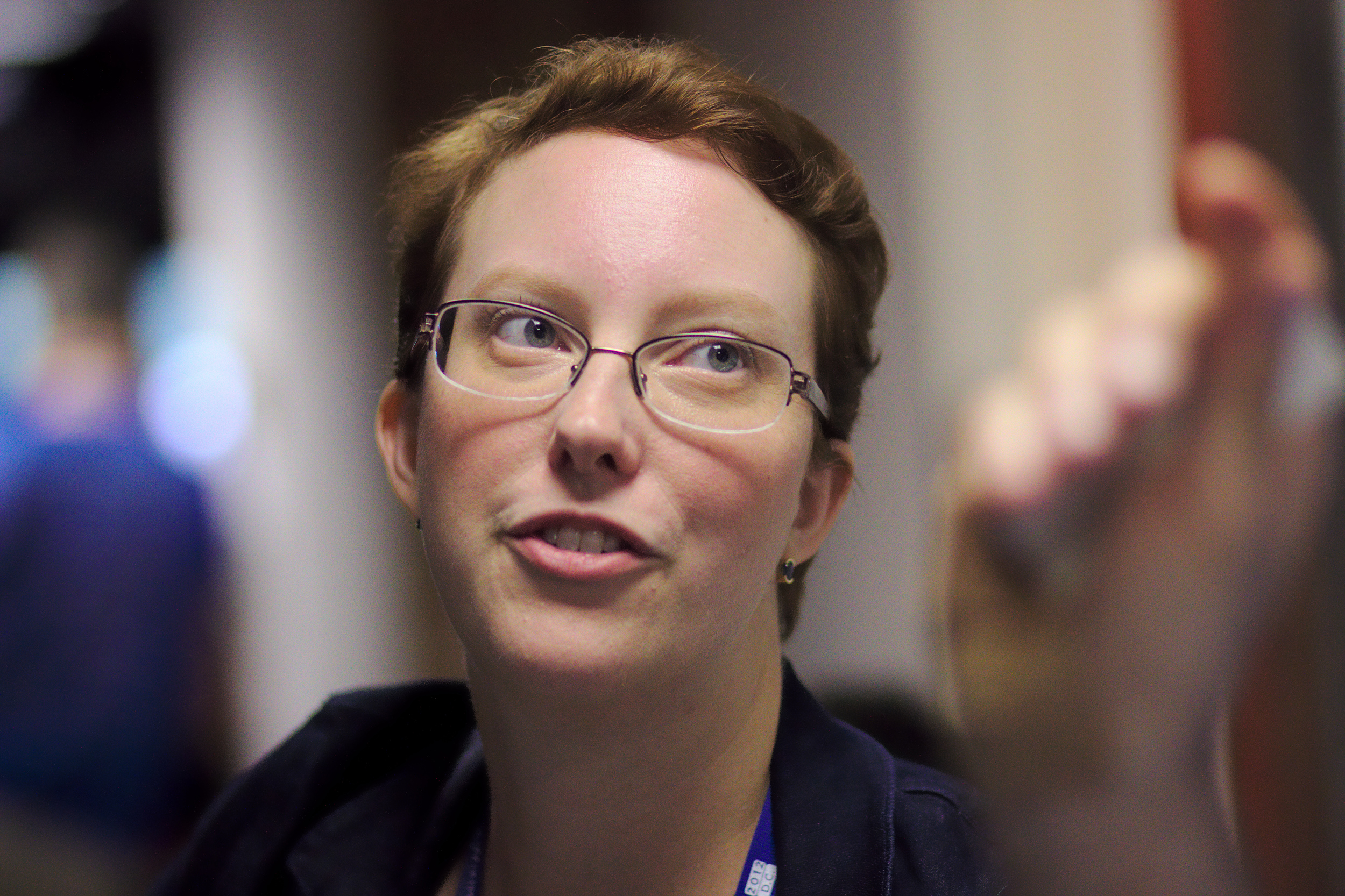 Wikipedia's main female contributor- Adrienne Wadewitz.  She edited about 50,000 articles and was a feminist.