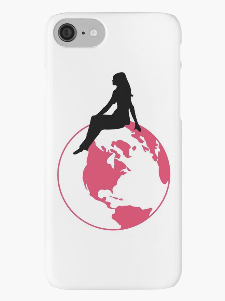 World Girl iPhone Case