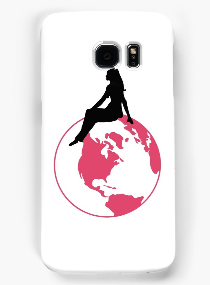 World Girl Galaxy Case