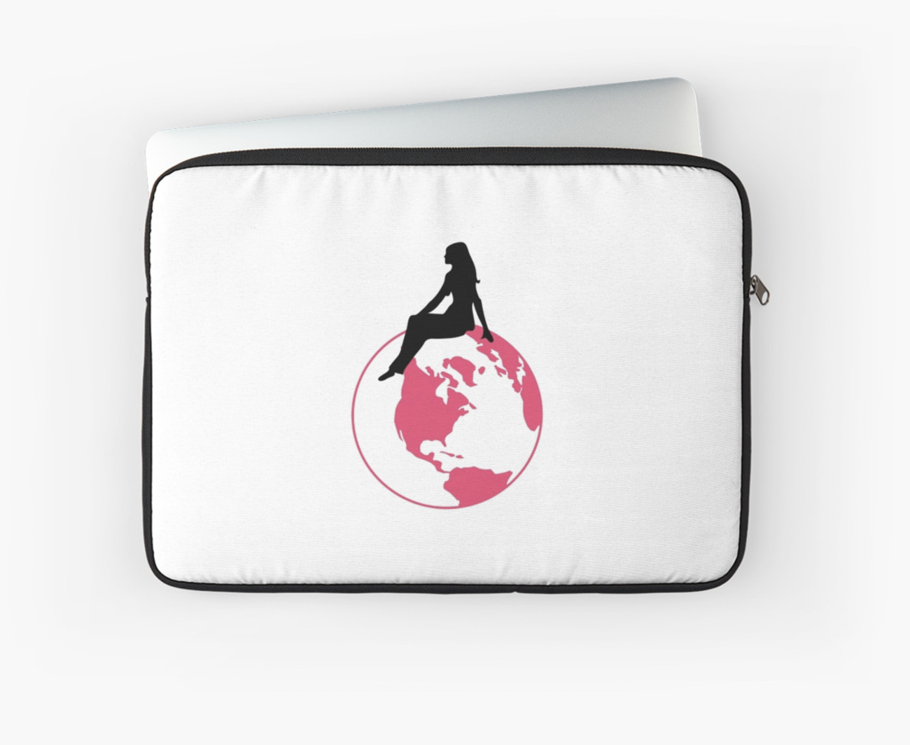 World Girl Laptop Sleeve