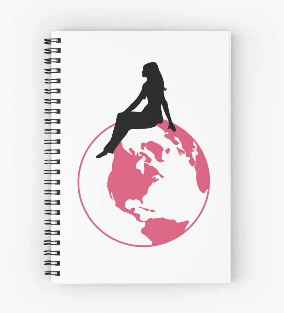 World Girl Spiral Notebook